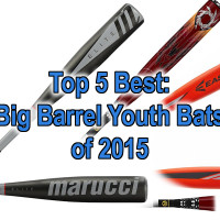 Our picks for the top rated big barrel bats of 2015!